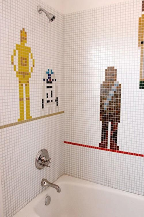 Star Wars Interior Design Character Tile Design