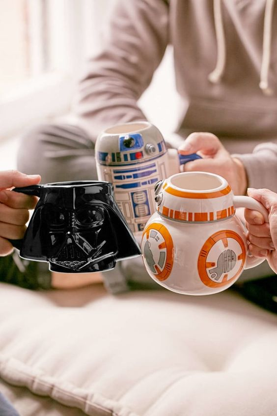 Star Wars Interior Design Character Coffee Cups