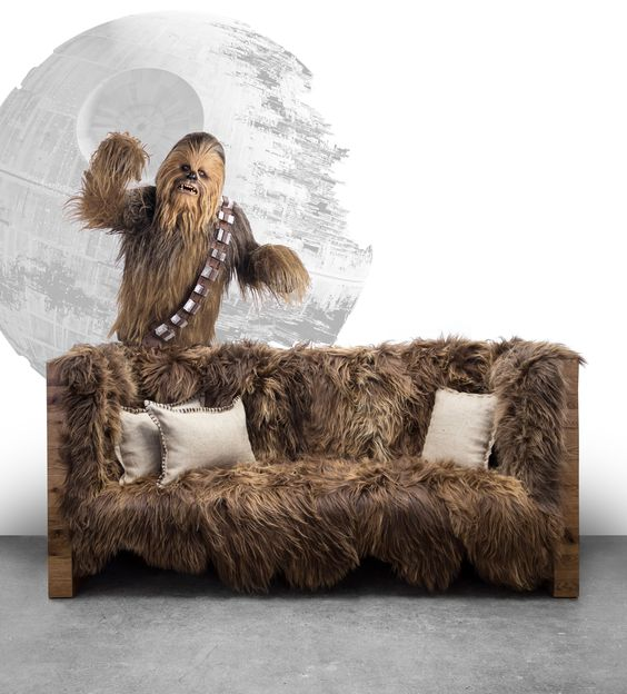 Star Wars Interior Design Chewbacca Couch
