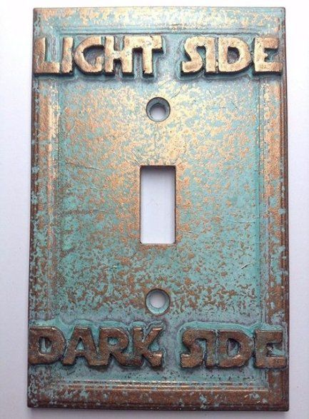 Star Wars Interior Design Dark Side Light Switch