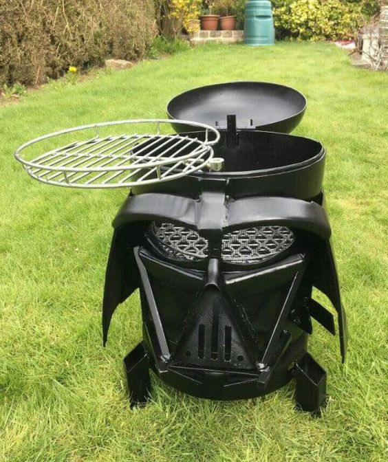 Star Wars Interior Design Darth Vader Grill