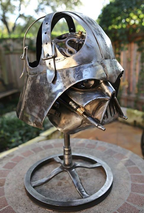Star Wars Interior Design Darth Vader Metal Lamp