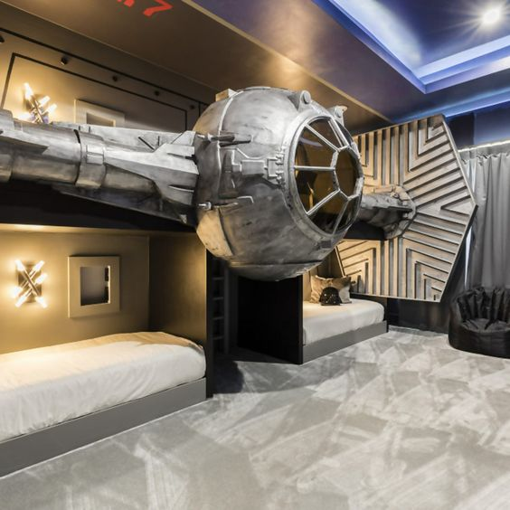 Star Wars Interior Design Jedi Master Bunk Beds