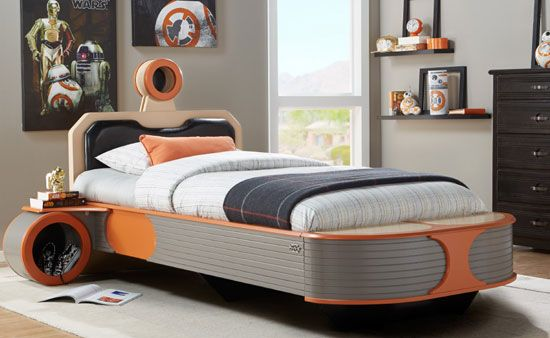 Star Wars Interior Design Landspeeder Bed