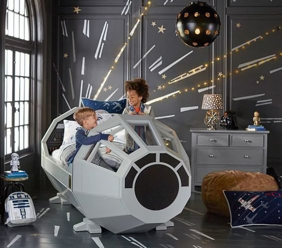 Star Wars Interior Design Millennium Falcon Bed