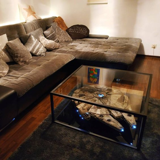 Star Wars Interior Design Millennium Falcon Coffee Table