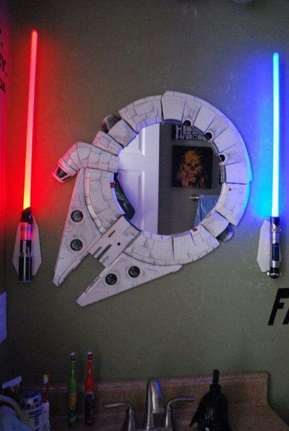 Star Wars Interior Design Millennium Falcon Mirror