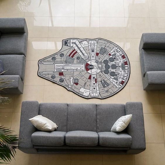 Star Wars Interior Design Millennium Falcon Rug