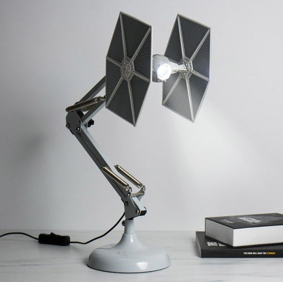 Star Wars Interior Design Tie Fighter Desk Lamp