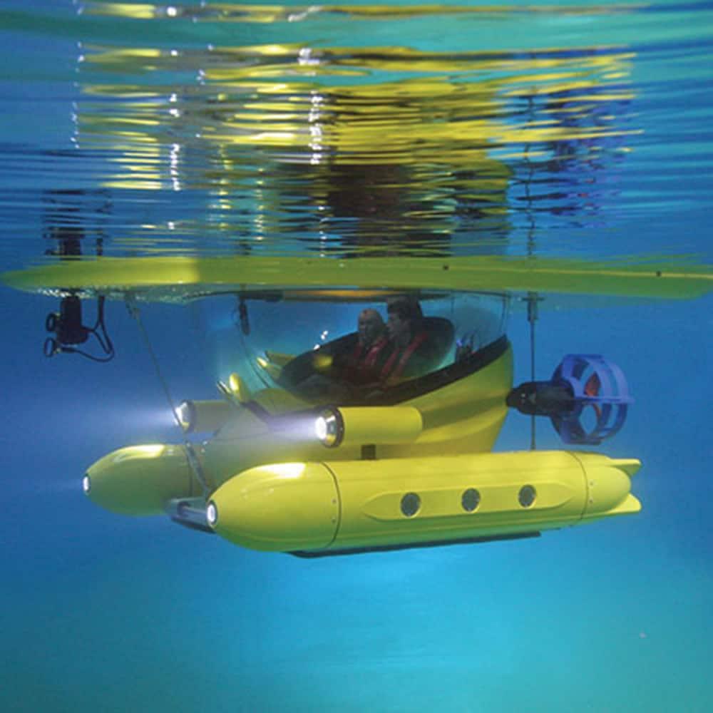 Amphibious Subsurface Watercraft Article Image 1
