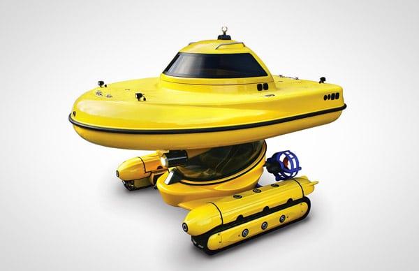 Amphibious Subsurface Watercraft Article Image 3
