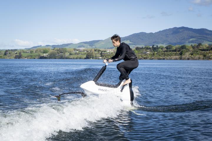 Hydrofoil Bikes Manta 5 Technology