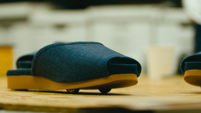 Self Parking Slippers Technology Image