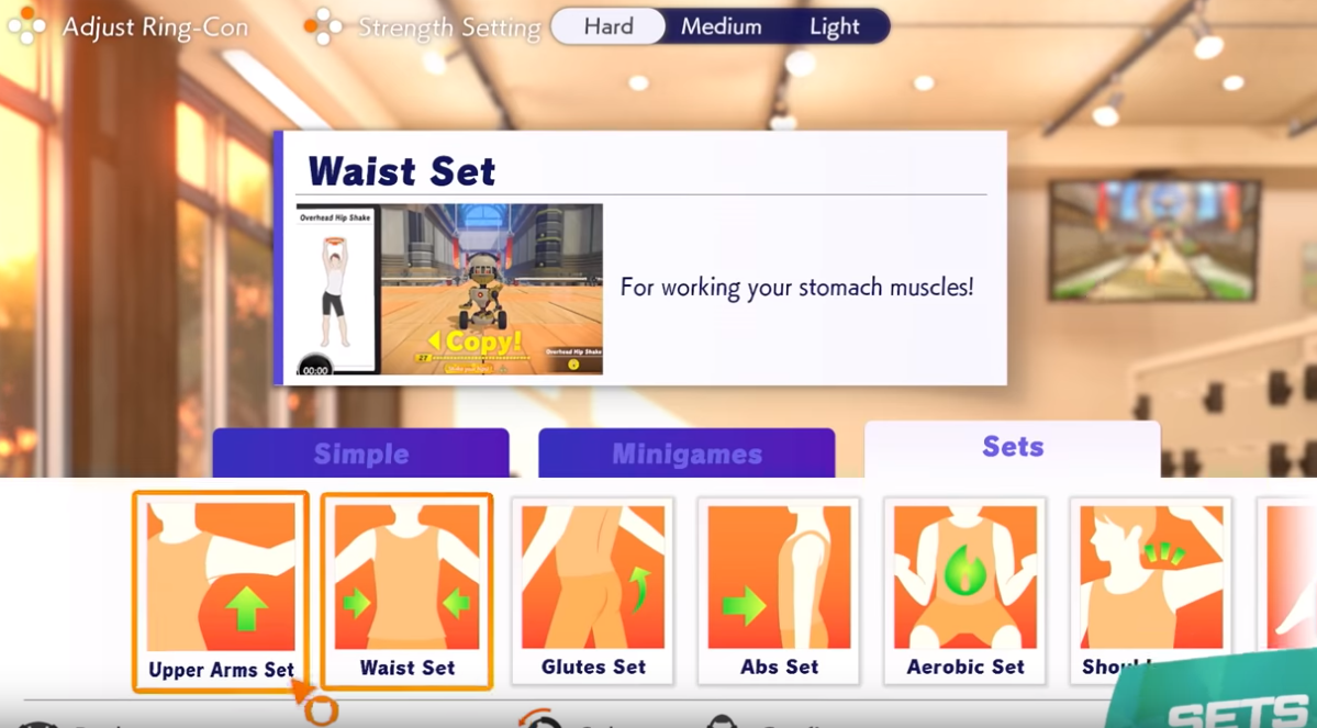 Switch Fitness Game For Family Image