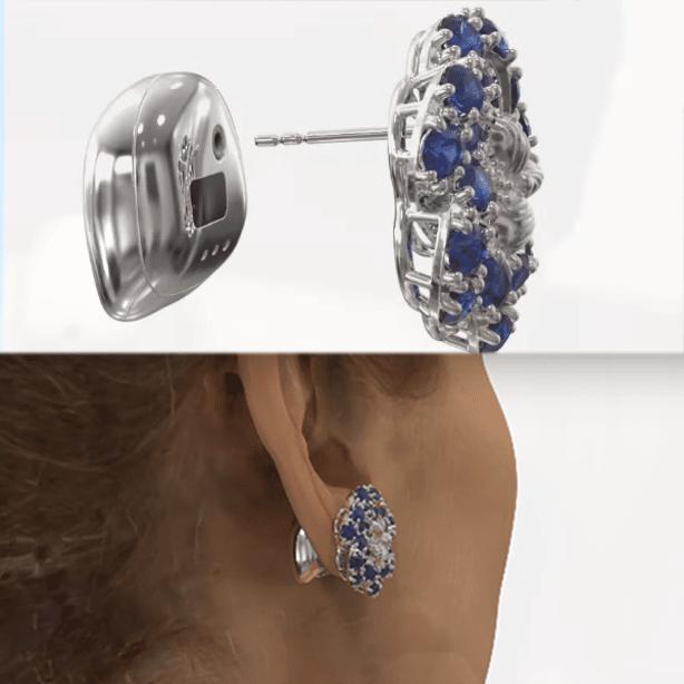 Hi Tech Earrings Fashion Image1