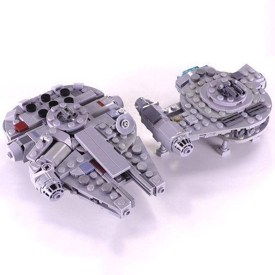 Article Image 3 - Millennium Falcon & Outrider Mini Set
