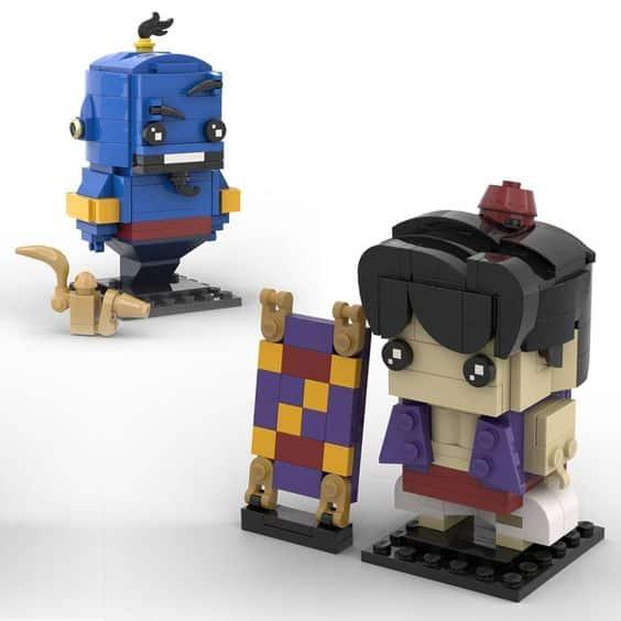 Custom Brickheadz Aladdin Genie Article Image 16