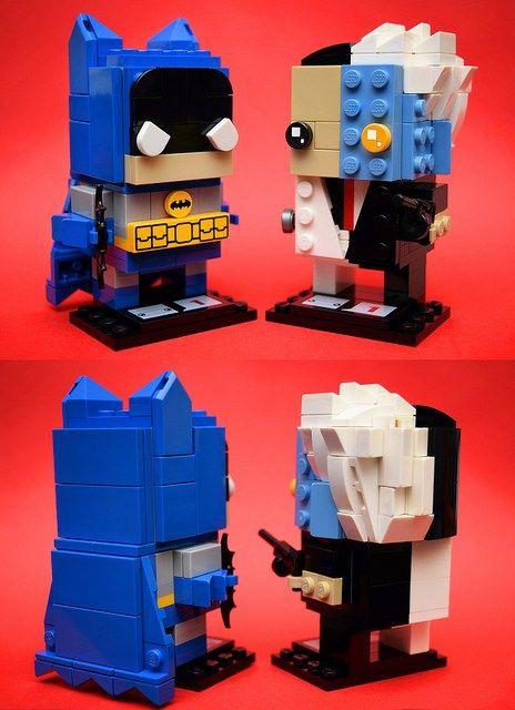 Custom Brickheadz Batman Two-Face Article Image 7