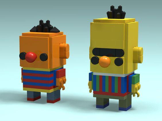 Custom Brickheadz Bert Ernie Article Image 18