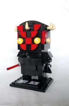 Custom Brickheadz Darth Maul Article Image 8