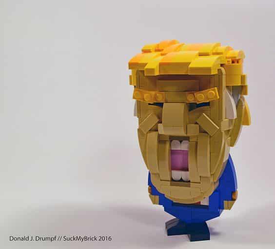 Custom Brickheadz Donald Drumpf Article Image 17