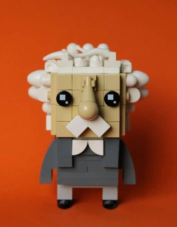 Custom Brickheadz Albert Einstein Article Image 10