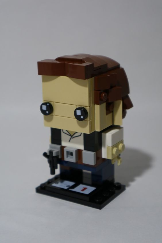 Custom Brickheadz Han Solo Article Image 19