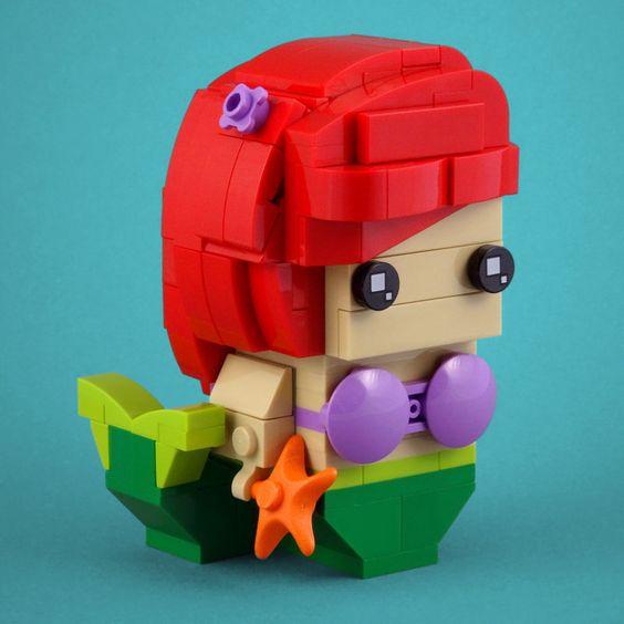 Custom Brickheadz The Little Mermaid Article Image 20