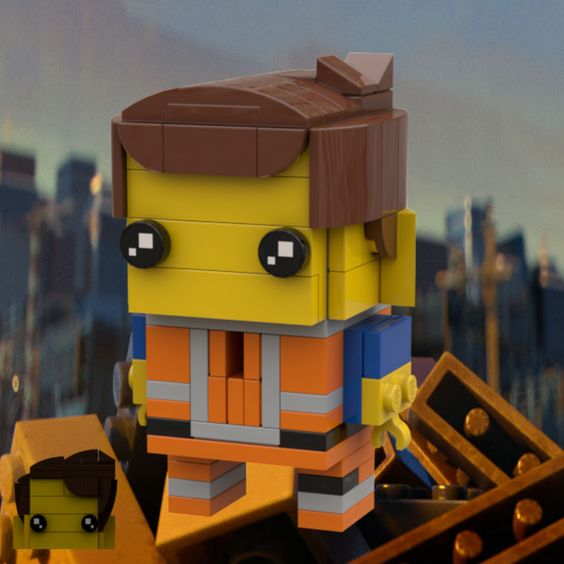 Custom Brickheadz Emmet Article Image 2