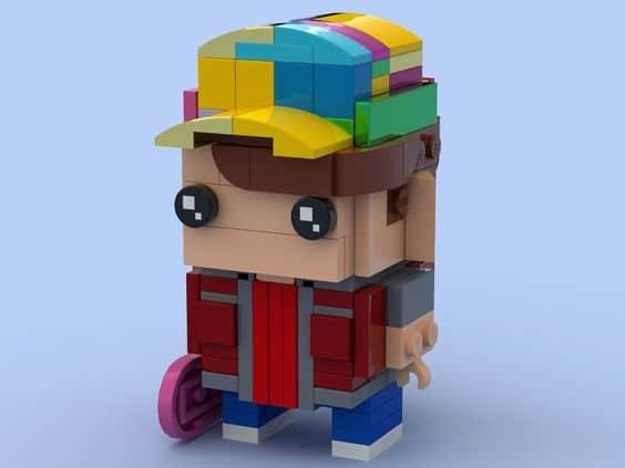 Custom Brickheadz Marty McFly Article Image 1
