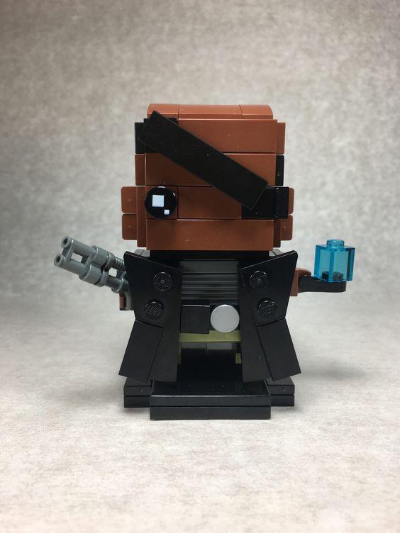 Custom Brickheadz Nick Fury Article Image 12