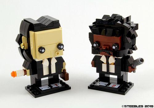 Custom Brickheadz Pulp Fiction Article Image 14